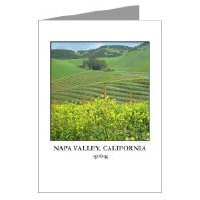 <b>napa valley + wine country greeting cards </b>