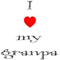 I love my granpa