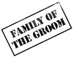 Family of the Groom Stamp