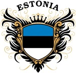 Estonian Flag T-shirts & Gifts
