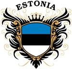 Estonian Flag T-shirts & Gifts
