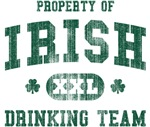 'Vintage' Irish Drinking Team