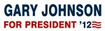 Gary Johnson For President