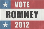 Vote Romney 2012 Vintage