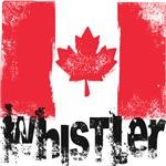 Whistler Grunge Flag