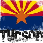 Tucson Grunge Flag