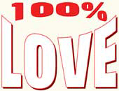 100% Love > Gifts & Apparel