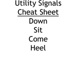 Utility Signals Cheat Sheet