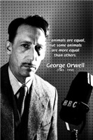 Priceless humor: George Orwell Animals Humanity