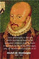 Michel de Montaigne: Philosophy of Education