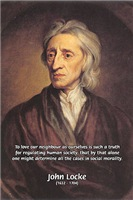 John Locke: Law of Love, social Liberty