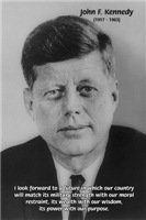 American Politics: JFK Ideal of Excellence