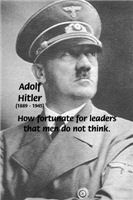 Vulnerability of Ignorance: Hitler Reign of Terror
