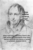Georg Hegel: Lessons of History