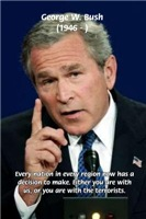 Terrorism George W. Bush: United Nations