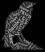 The Raven Word Cloud