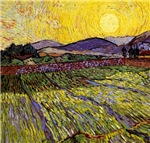Enclosed Field with the Rising Sun 1889