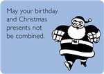 Christmas And Birthday Combined