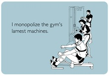 Gym's Lamest Machine's