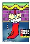 Rose Is Rose Stocking
