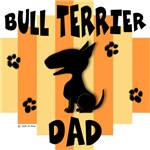 Bull Terrier Dad - Yellow/Orange Stripe