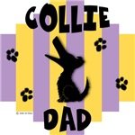 Collie Dad - Yellow/Purple Stripe