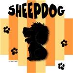 Sheepdog Yellow/Orange Stripe