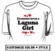 Everyone loves a Laguna girl