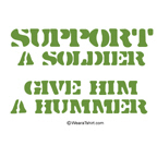Support a soldier