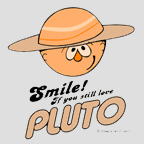 Smile if you love Pluto