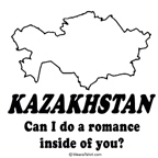 Kazakhstan, Can I do a romance?