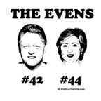 The Even Presidents