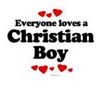 Everyone loves a Christian boy