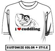 I Love Cuddling.
