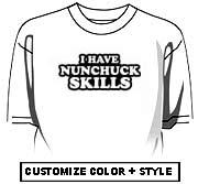I have nunchuck skills