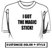 I got the magic stick