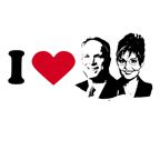 I Love McCain Palin 08