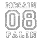 MCCAIN PALIN 08 Grey