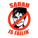 NO PALIN: Sarah is Failin'