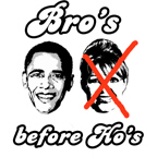 ANTI-PALIN: Bro's before Ho's