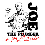 Joe the Plumber is for McCain