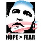 Hope > Fear
