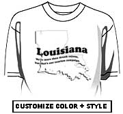 Louisiana - Drunk cajuns, our tourism campaign
