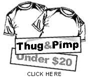 Pimp T-shirts under $20
