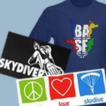 Skydive and BASE jump