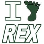 I (Foot) Rex