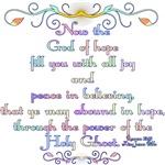 Romans 15:13 Rainbow