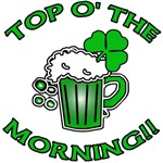 Top O' The Morning Irish Beer T-shirt