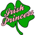 Irish Princess with Shamrock Pink and Green