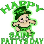 Happy St Patty's Day with Cute Kewpie